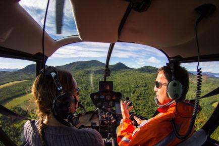 Mont des Éboulements de l'hélicoptère