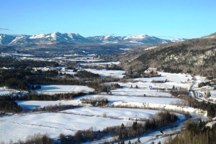 Rivière du Gouffre en hiver