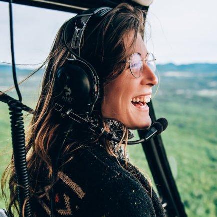 Apprendre en s'amusant à bord de notre hélicoptère